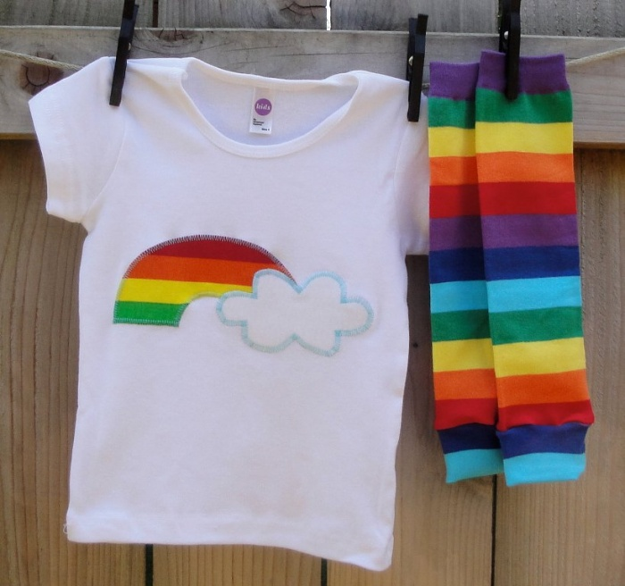 rainbow-cloud Gorgeous Rainbow Kids Clothing