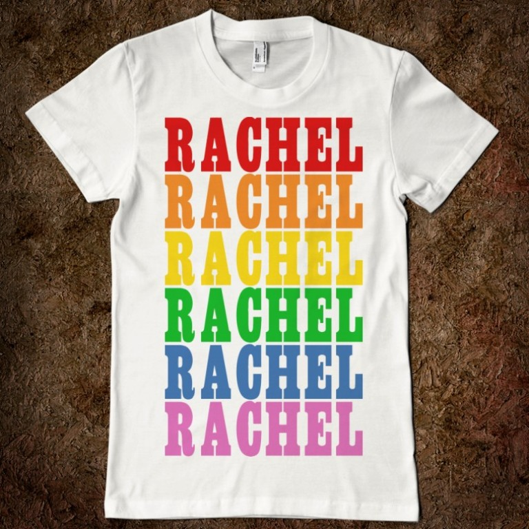 rainbow-name-rachael-t-shirt Gorgeous Rainbow Kids Clothing