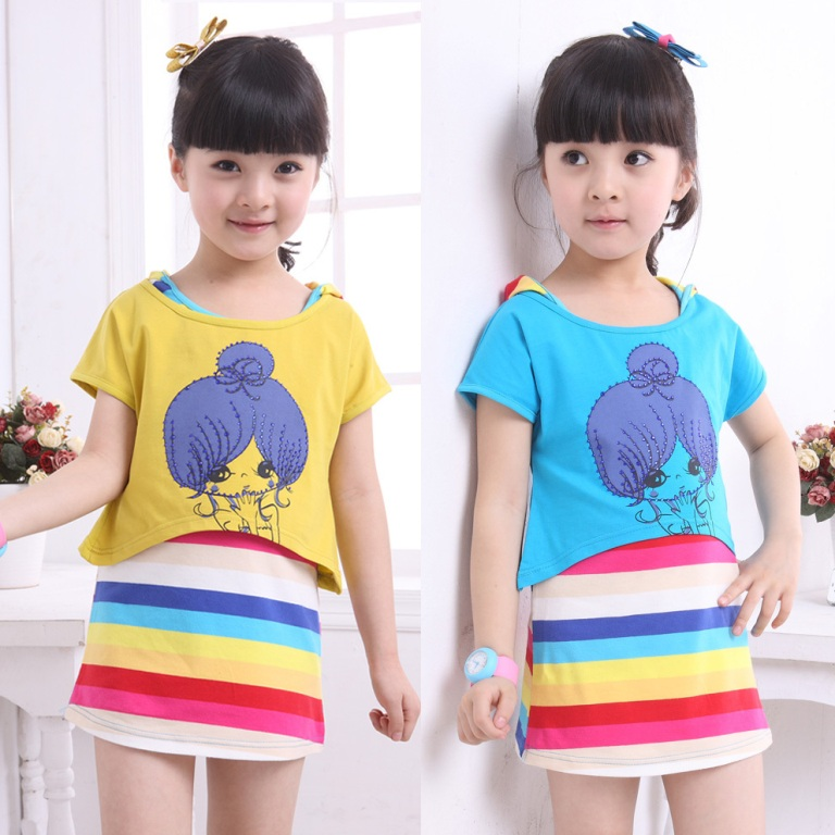 rainbow. Gorgeous Rainbow Kids Clothing