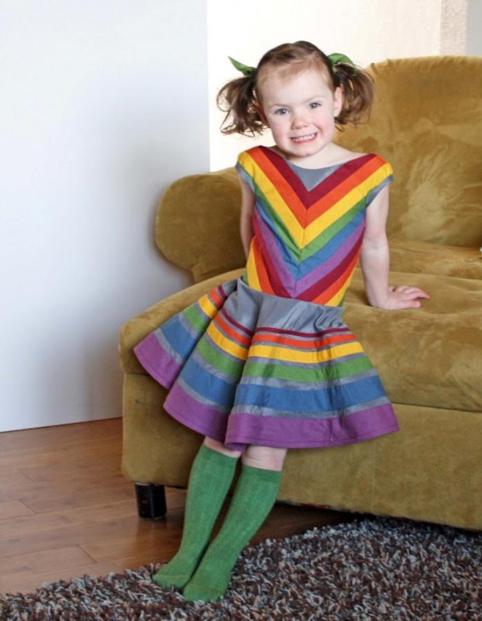 rainbow7 Gorgeous Rainbow Kids Clothing