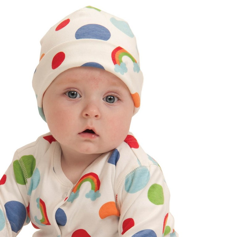rainbow_spot_hat Gorgeous Rainbow Kids Clothing