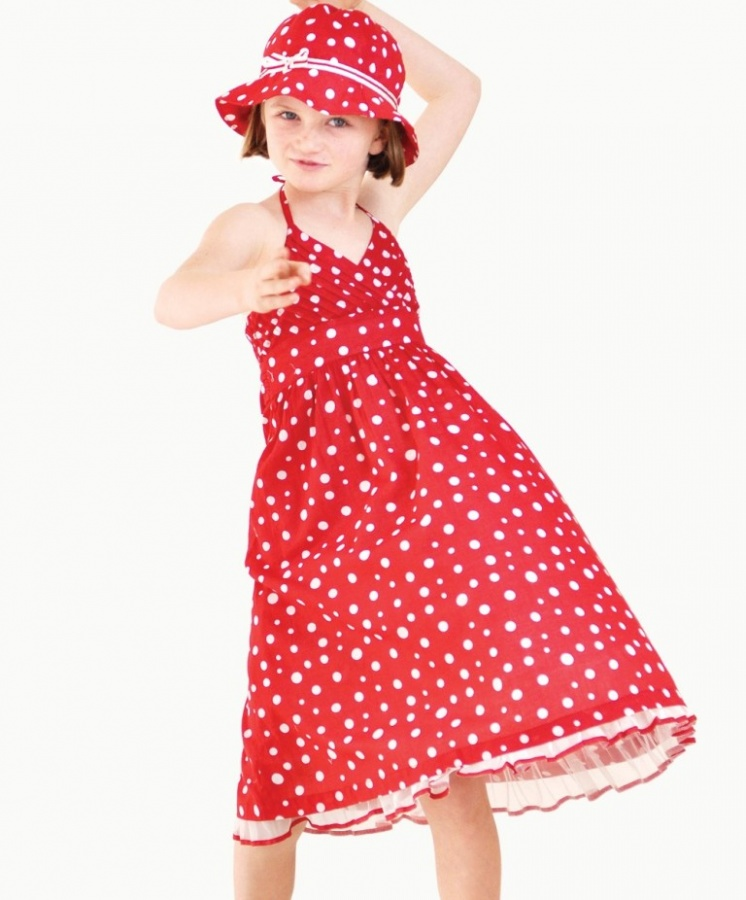 red-party-dress-summer Most Stylish and Awesome Party Clothing for Girls