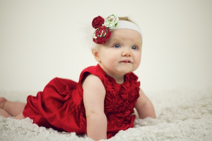 red2 50 Gorgeous Kids Hair Accessories and Hairstyles