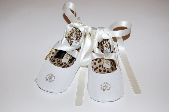 roberto-cavalli-baby-shoes 5 Important Considerations to Make Before Buying Your Wedding Dress