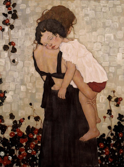 s-Mother-and-Child 20 Paintings Of Fine Art