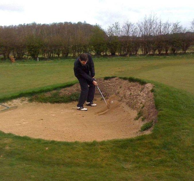 sand How to Break 80 in Golf