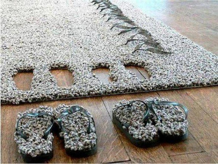 slippers Exotic and Creative Carpet Designs for Your Unique Home