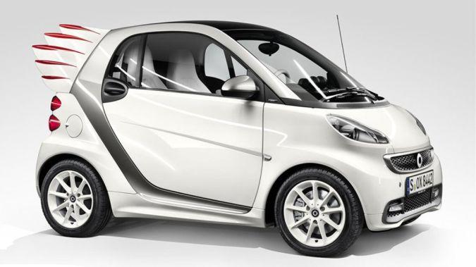 smartfortwowings 30 Creative and Breathtaking Car Design Ideas