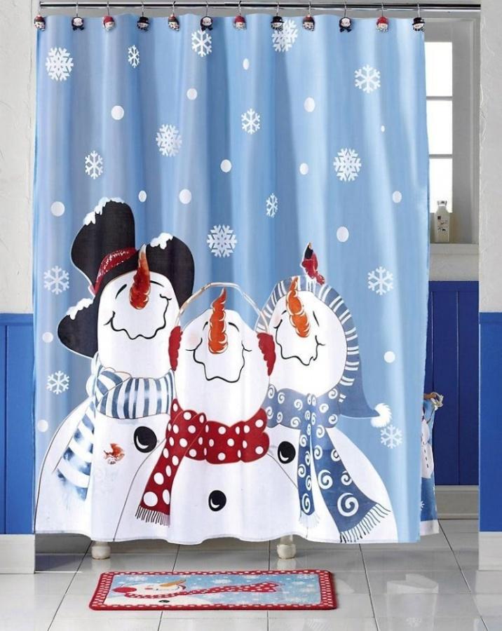 snow-man 10 Fabulous Kids Bathroom Accessories