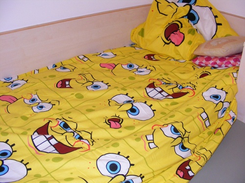 spongebob-bedsheets-for-Our-Children How To Find The Most Durable Bed Sheets For Kids?!