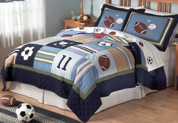 sports-kids-bedding-kids-room How To Find The Most Durable Bed Sheets For Kids?!