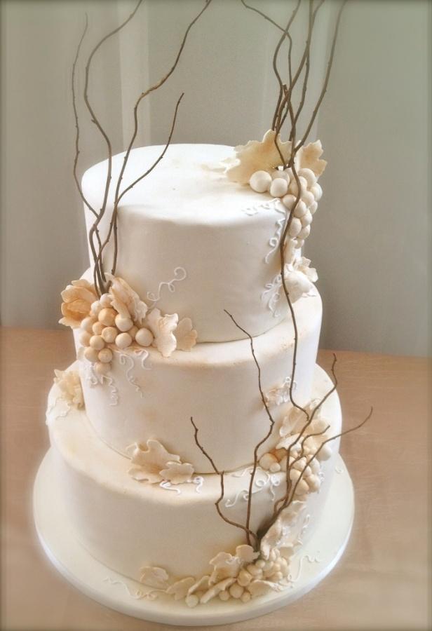 sticks-wedding-cake 50 Mouthwatering and Wonderful Wedding Cakes