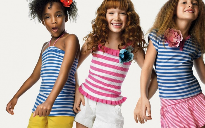 striped. Most Stylish American Kids Clothing