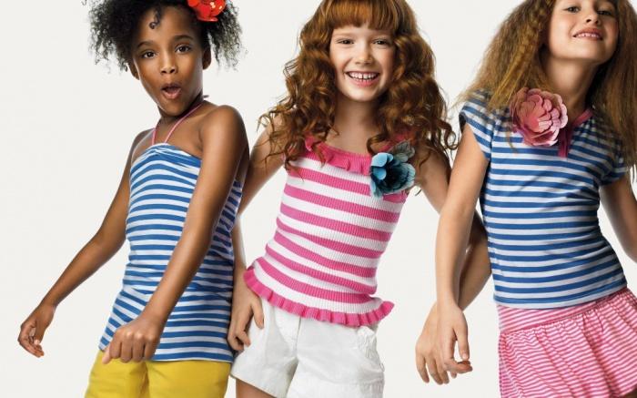 striped. Most Stylish American Kids Clothing
