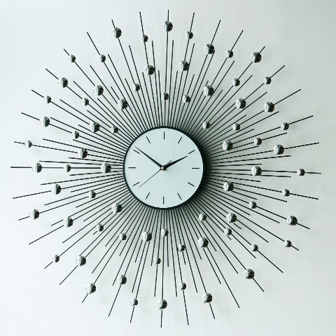 sunburst 15 Amazing Wall Clocks Will Be Pieces Of Art In Your Home
