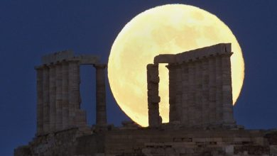 Photo of The Night Sky Has Been illuminated By The Brighter And Bigger Supermoon