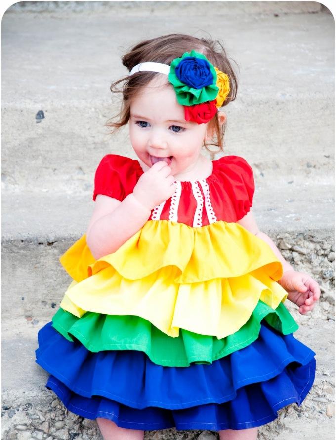 sweet2 Gorgeous Rainbow Kids Clothing