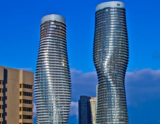 the-absolute-towers-in-mississauga-canada-a-fast-growing-suburb-of-toronto-were-named-the-best-tall-buildings-in-the-americas The Most Famous Skyscrapers Around The World