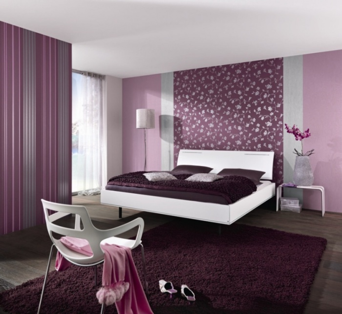 the outstanding of purple for the charming purple bedroom designs dark purple bedroom design inspirations What Are the Latest Home Decor Trends for 2014?
