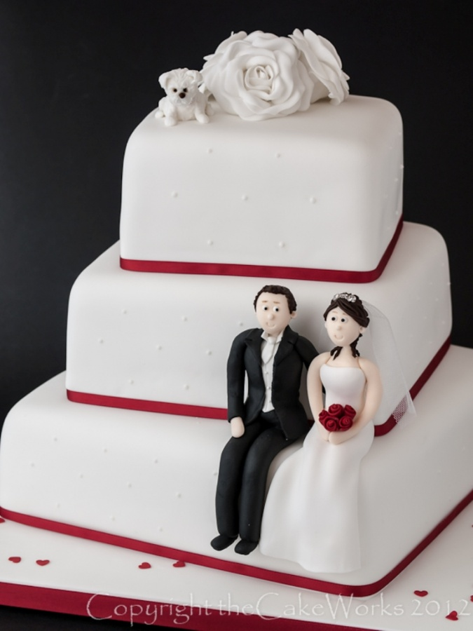 theCakeWorks_wedding-cakes 50 Mouthwatering and Wonderful Wedding Cakes