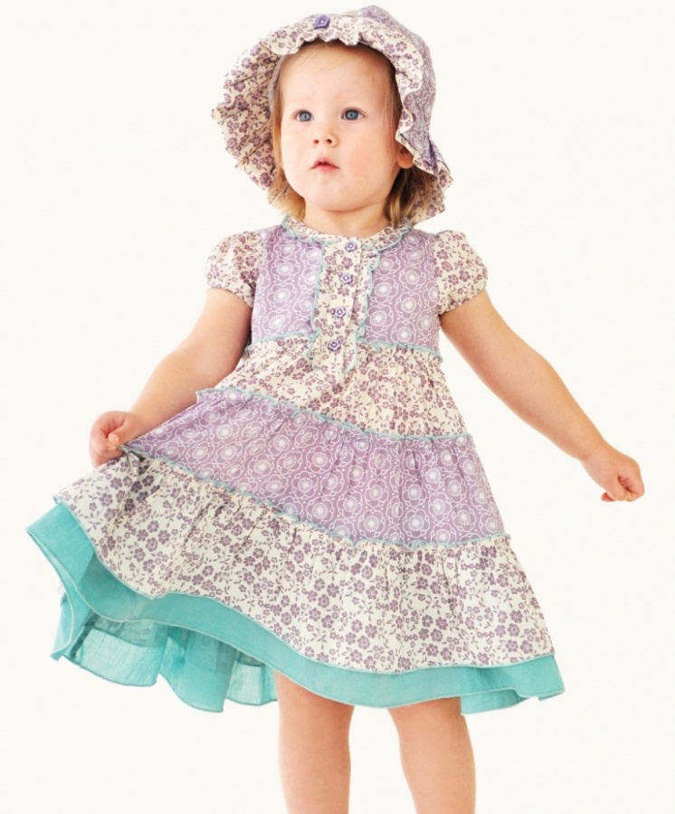 tiered-panel-party-dress Most Stylish and Awesome Party Clothing for Girls