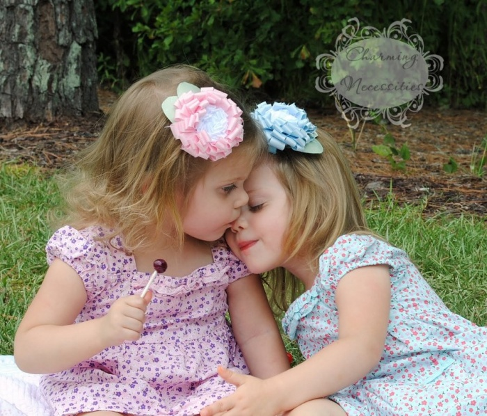 together-forever1 50 Gorgeous Kids Hair Accessories and Hairstyles