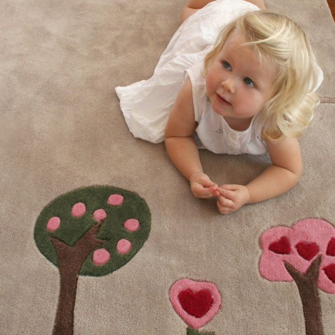 trees_kids_rug_detail_817_detail Kids' Rugs Are Not Just For Decoration, But An Educational Method