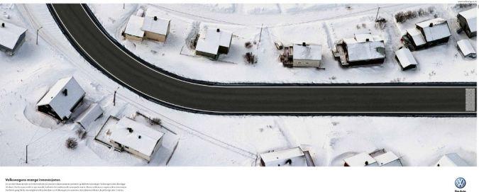 volkswagen_winter Top 10 Most Interactive Car Print Ads