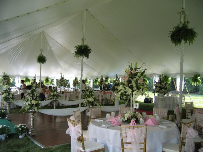 wedding_tent_rental_pole_tents_philadelphia_pa Dazzling and Stunning Outdoor Wedding Decorations