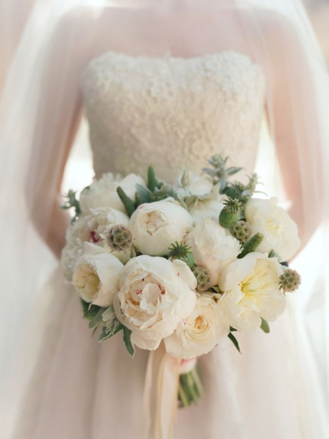 white-peonies-wedding-bouquet Do You Know How to Pay for Your Wedding?