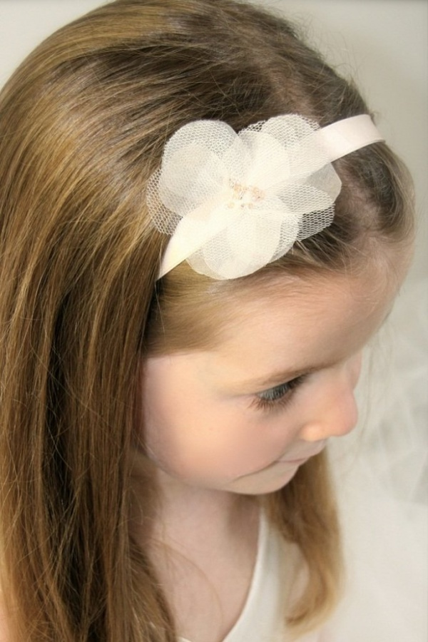 white1 50 Gorgeous Kids Hair Accessories and Hairstyles