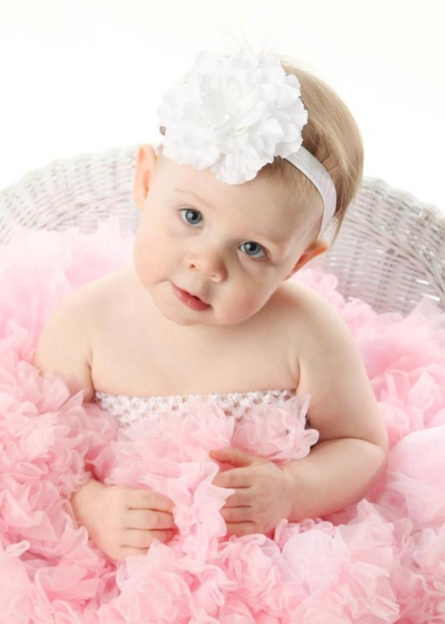 white2 50 Gorgeous Kids Hair Accessories and Hairstyles