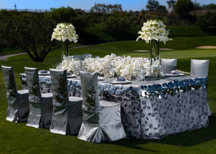 wildflower1 Dazzling and Stunning Outdoor Wedding Decorations