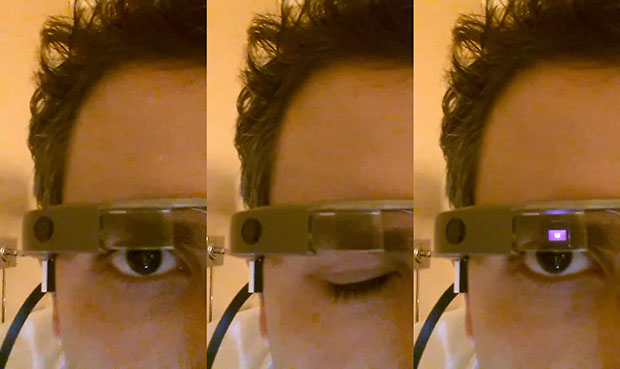 winktoshoot Google glasses capture images with winking