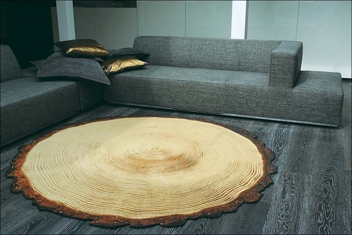 wood Exotic and Creative Carpet Designs for Your Unique Home
