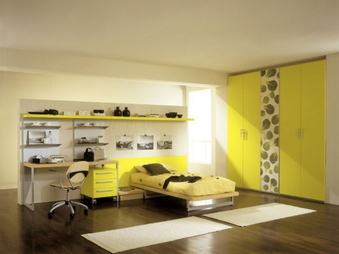 yellow-bedroom-furniture Discover the 10 Uncoming Furniture Trends
