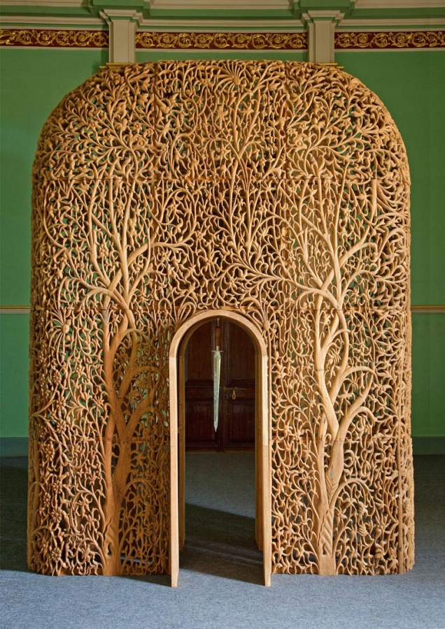 00 24 Amazing Wooden Installations Art
