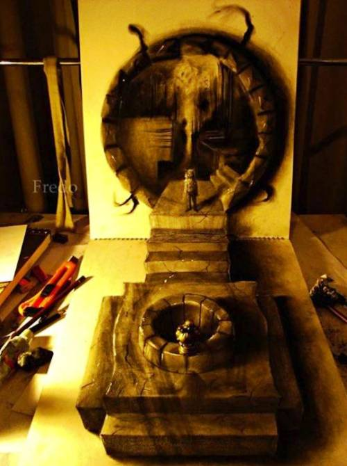 02 Top 25 Incredibly Realistic 3D Drawings