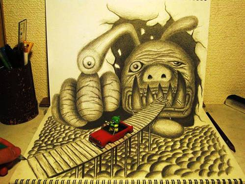 05 Top 25 Incredibly Realistic 3D Drawings