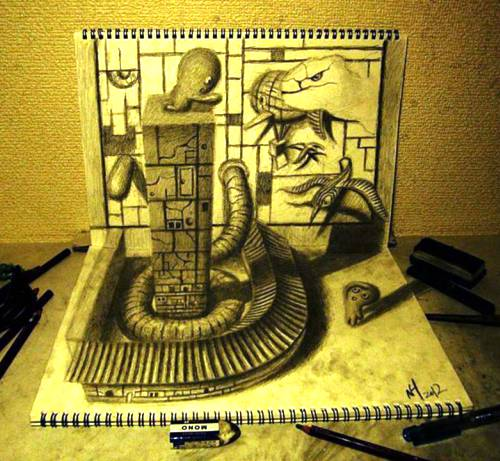 06 Top 25 Incredibly Realistic 3D Drawings