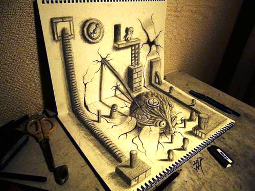 07 Top 25 Incredibly Realistic 3D Drawings