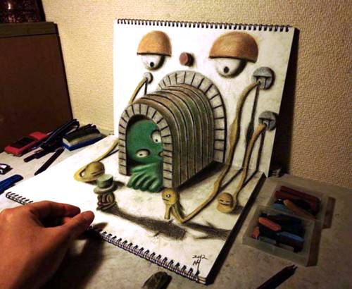 08 Top 25 Incredibly Realistic 3D Drawings