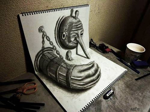09 Top 25 Incredibly Realistic 3D Drawings