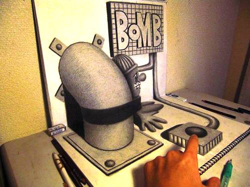 10 Top 25 Incredibly Realistic 3D Drawings