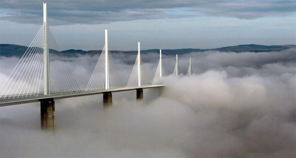 11.-Millau-Viaduct 18 Most Unique Bridges Of The World