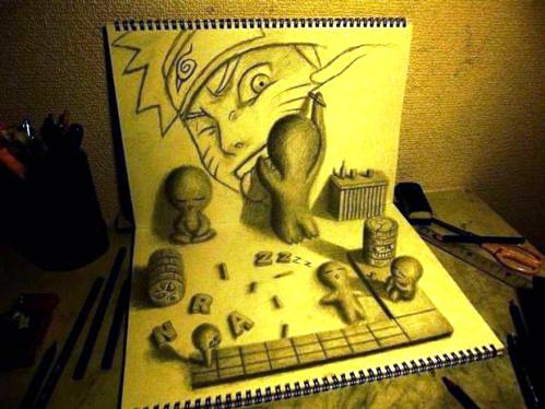 11 Top 25 Incredibly Realistic 3D Drawings