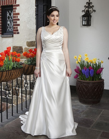 12128174633 Tips To Choose The Perfect Plus Size Bridal Dress...