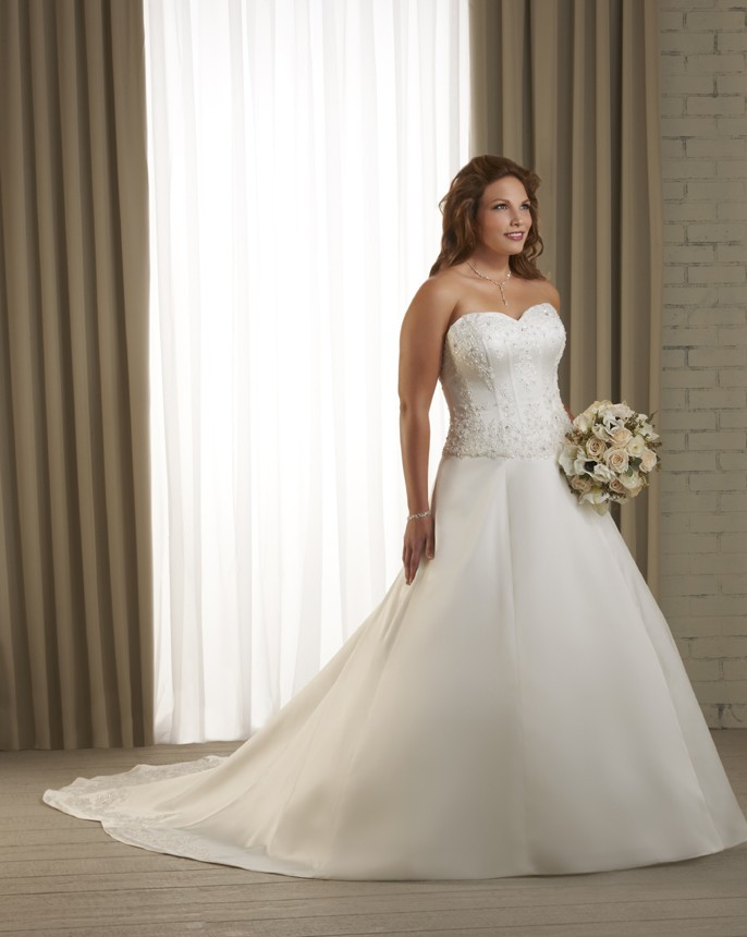 1222f Tips To Choose The Perfect Plus Size Bridal Dress...