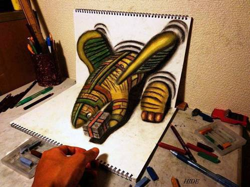 13 Top 25 Incredibly Realistic 3D Drawings