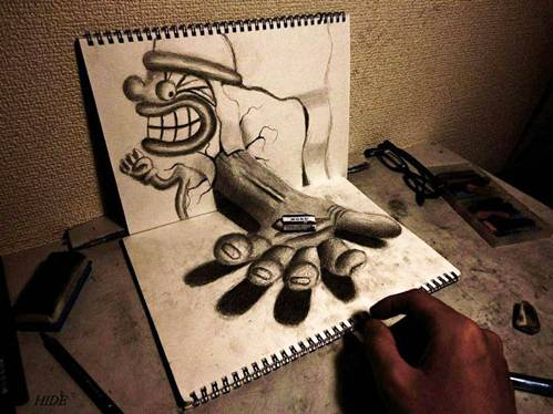 14 Top 25 Incredibly Realistic 3D Drawings